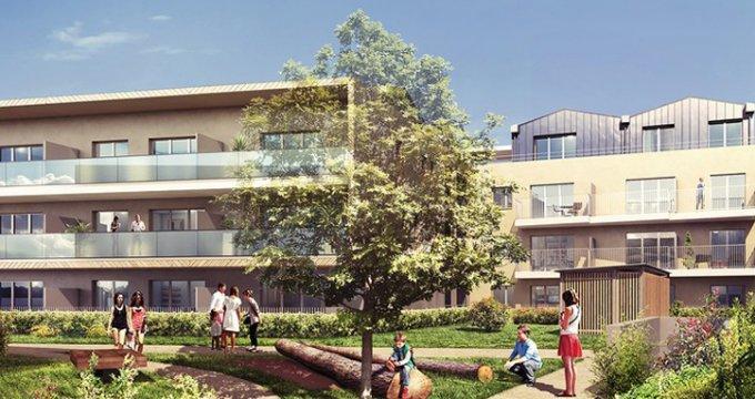 Achat / Vente immobilier neuf Castelnau-le-Lez, ZAC de l'Aube Rouge (34170) - Réf. 683
