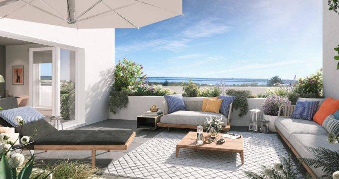 Achat / Vente immobilier neuf Frontignan à deux pas des plages (34110) - Réf. 6353