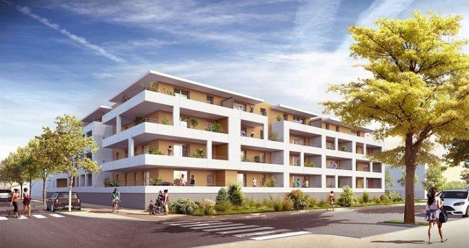 Achat / Vente immobilier neuf Frontignan éco quartier (34110) - Réf. 989