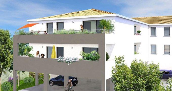 Achat / Vente immobilier neuf Frontignan proche port de plaisance (34110) - Réf. 2700