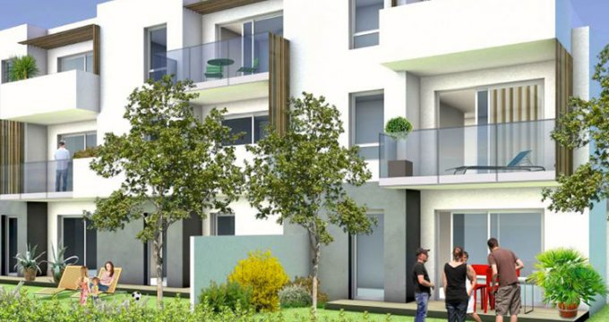 Achat / Vente immobilier neuf Frontignan quartier des Crozes (34110) - Réf. 3860