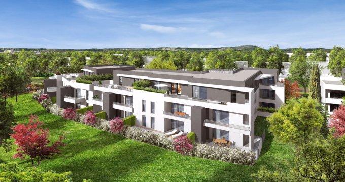 Achat / Vente immobilier neuf Lattes-Boirargues projet Montpellier Méditerranée Métropole (34970) - Réf. 1443