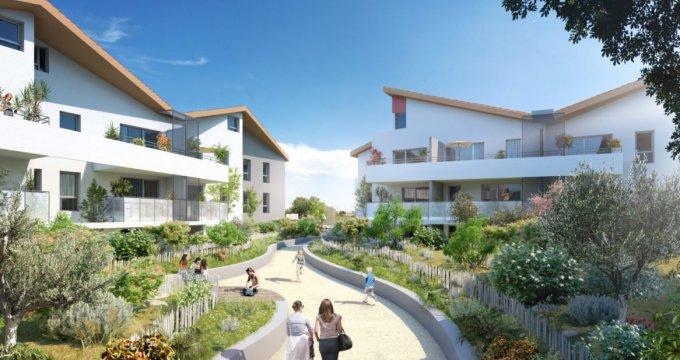 Achat / Vente immobilier neuf Marseillan proche Etang de Thau (34340) - Réf. 3570