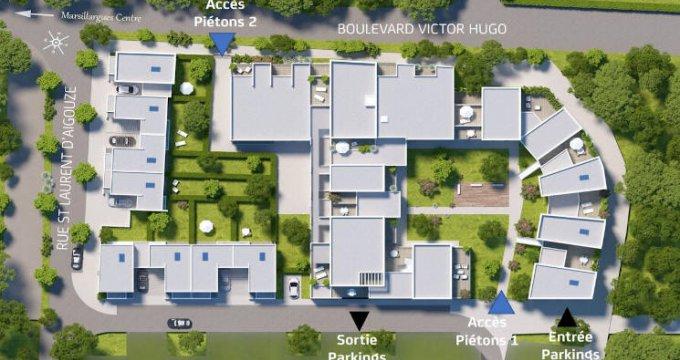 Achat / Vente immobilier neuf Marsillargues secteur résidentiel proche centre (34590) - Réf. 4773