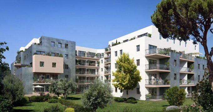 Achat / Vente immobilier neuf Montpellier au cœur du quartier des artistes (34000) - Réf. 346