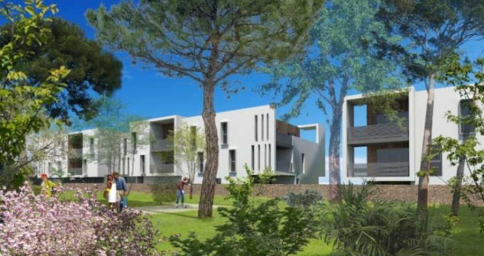 Achat / Vente immobilier neuf Montpellier secteur Grand M (34000) - Réf. 165