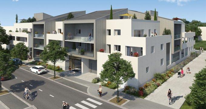 Achat / Vente immobilier neuf Saint-Brès proche de Montpellier (34670) - Réf. 2505