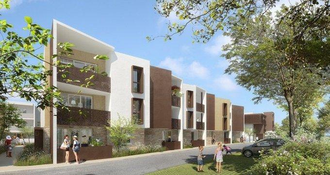 Achat / Vente immobilier neuf Saint-Jean-de-Védas ensemble harmonieux et résidentiel dans un quartier pavillonnaire proche de la ville (34430) - Réf. 698
