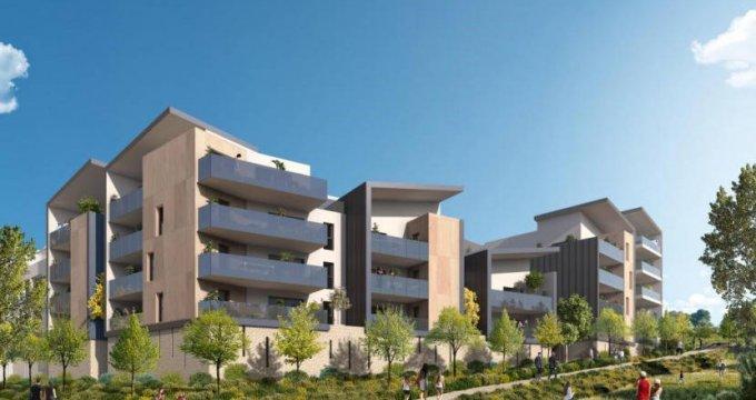 Achat / Vente immobilier neuf Saint-Jean-de-Védas proche parc de la Peyrière (34430) - Réf. 6122