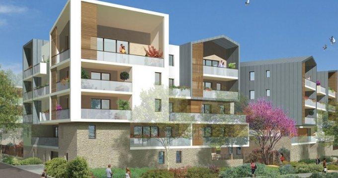 Achat / Vente immobilier neuf Saint-Jean-de-Védas quartier Roque de Fraïsse (34430) - Réf. 2623