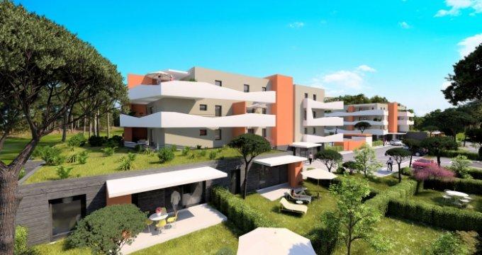 Achat / Vente immobilier neuf Sérignan proche de la  Plage (34410) - Réf. 3473