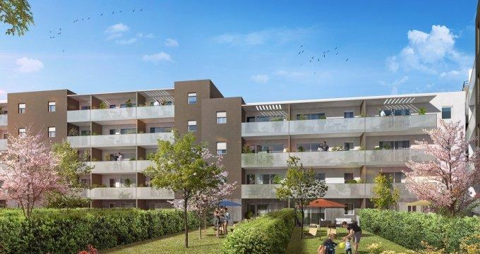 Achat / Vente immobilier neuf Sète face à l'étang (34200) - Réf. 1505
