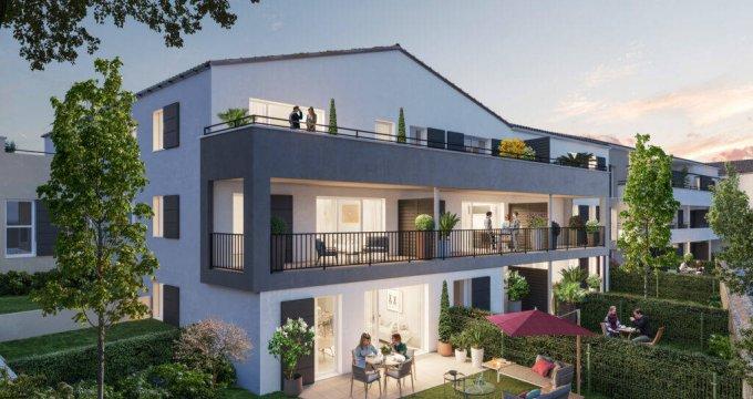 Achat / Vente immobilier neuf Vendargues centre proche écoles (34740) - Réf. 6319
