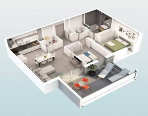 """Achat / Vente immobilier neuf Beziers au coeur du quartier """"Les Parcs du Frigoulas"""" (34500) - Réf. 5489"""
