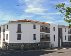 Achat / Vente immobilier neuf Mauguio résidence intimiste à 2 pas du centre-ville (34130) - Réf. 456