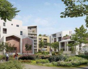 Achat / Vente immobilier neuf Montpellier écoquartier à proximité du tramway (34000) - Réf. 4748