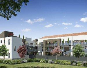 Achat / Vente immobilier neuf Saint-Brès au coeur du quartier de Cantaussel (34670) - Réf. 4202