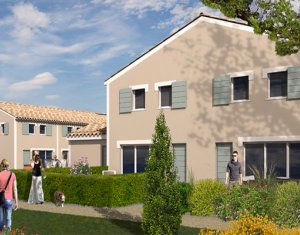 Achat / Vente immobilier neuf Saussan à 20 minutes des plages (34570) - Réf. 5417