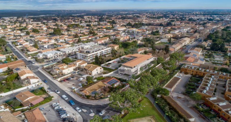 Achat / Vente immobilier neuf Baillargues à 500m de la gare (34670) - Réf. 5698