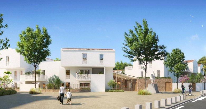 Achat / Vente immobilier neuf Baillargues au cœur du quartier Domaine Napoleon (34670) - Réf. 6208