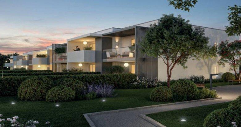 Achat / Vente immobilier neuf Baillargues au cœur d'un environnement intimiste (34670) - Réf. 5169