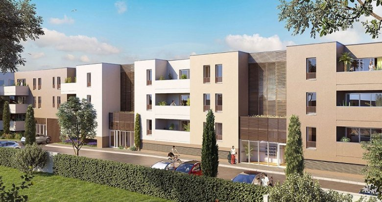Achat / Vente immobilier neuf Candillargues proche Montpellier (34130) - Réf. 2577