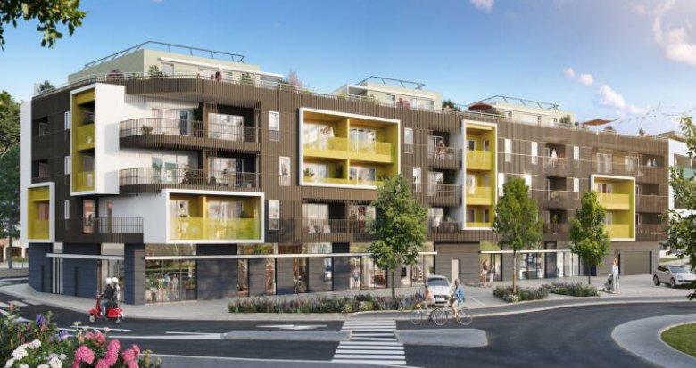 Achat / Vente immobilier neuf Castelnau-le-Lez à deux pas du T2 Centurions (34170) - Réf. 5948
