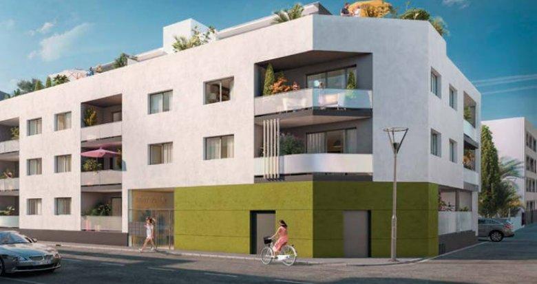 Achat / Vente immobilier neuf Castelnau-le-Lez à deux pas du tramway (34170) - Réf. 3049