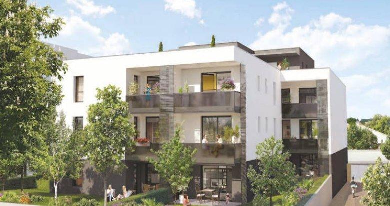 Achat / Vente immobilier neuf Castelnau-le-Lez au pied du tramway (34170) - Réf. 4471
