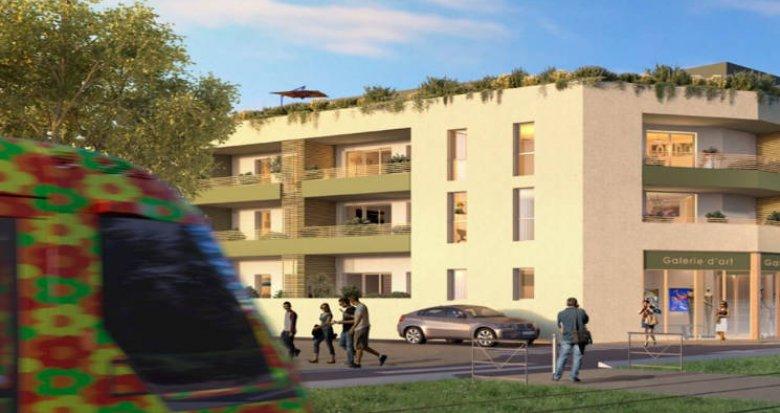 Achat / Vente immobilier neuf Castelnau-le-Lez en face du tramway (34170) - Réf. 4762