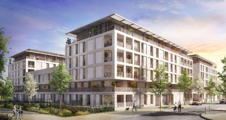 Achat / Vente immobilier neuf Castelnau-le-Lez entre le domaine Verchant et le Millénaire (34170) - Réf. 2278