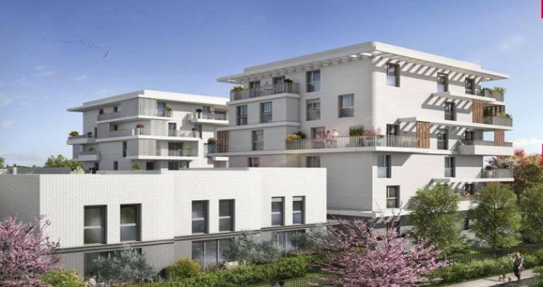 Achat / Vente immobilier neuf Castelnau-le-Lez proche secteur du Domaine de Verchant (34170) - Réf. 3755