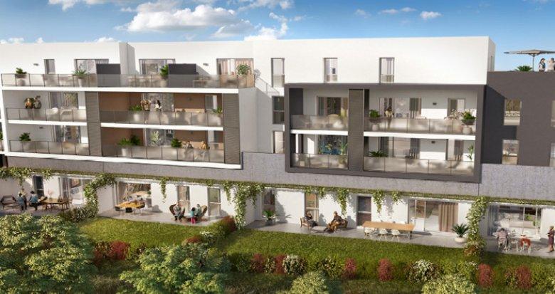 Achat / Vente immobilier neuf Castelnau-le-lez proche tram Centurions (34170) - Réf. 5276