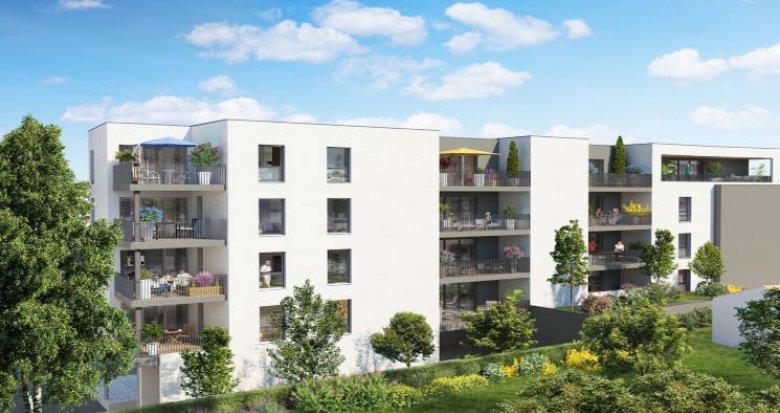 Achat / Vente immobilier neuf Castelnau-le-Lez proche tram Charles de Gaulle (34170) - Réf. 5944