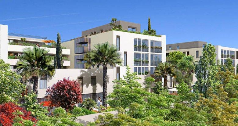 Achat / Vente immobilier neuf Castelnau-le-Lez proche tramway (34170) - Réf. 6128