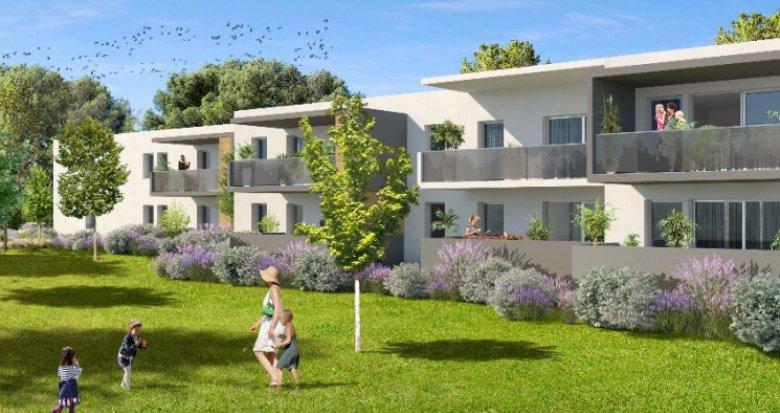 Achat / Vente immobilier neuf Clapiers au nord de Montpellier (34830) - Réf. 2428