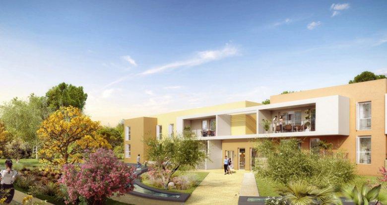 Achat / Vente immobilier neuf Clapiers quartier résidentiel (34830) - Réf. 4728