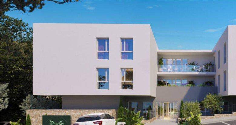 Achat / Vente immobilier neuf Fabrègues – résidence sénior au cœur d'une belle nature (34690) - Réf. 5191
