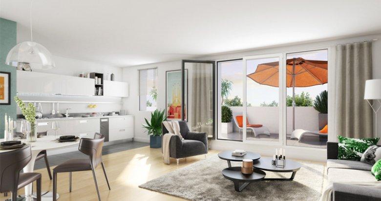 Achat / Vente immobilier neuf Frontignan écoquartier des Pielles (34110) - Réf. 2400