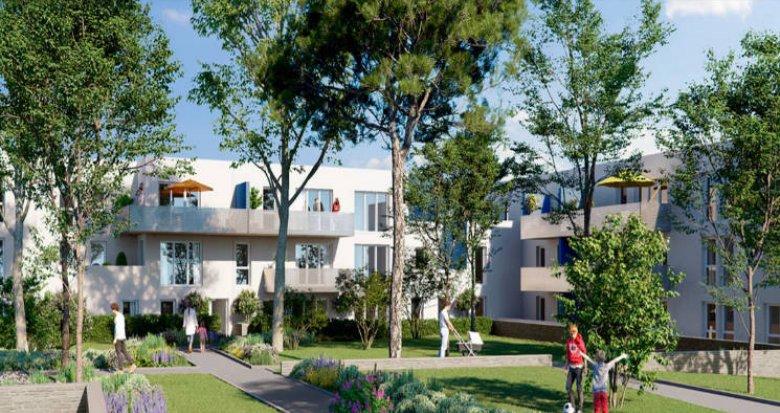 Achat / Vente immobilier neuf Gigean à 15 minutes des plages (34770) - Réf. 4742