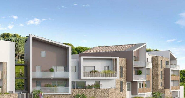 Achat / Vente immobilier neuf Grabels proche quartier Euromédecine (34790) - Réf. 3091