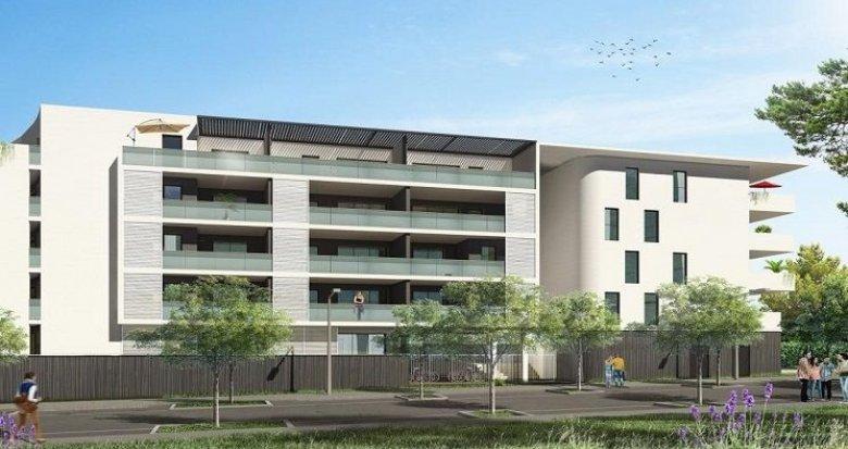 Achat / Vente immobilier neuf Juvignac aux portes de Montpellier dans un quartier résidentiel (34990) - Réf. 1486
