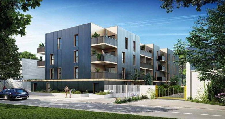 Achat / Vente immobilier neuf Lattes au coeur du quartier de Boirargues (34970) - Réf. 6023