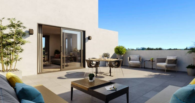 Achat / Vente immobilier neuf Marsillargues à 15 min des plages (34590) - Réf. 5162