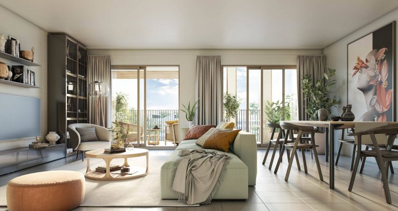 Achat / Vente immobilier neuf MAUGUIO zac de la font (34130) - Réf. 6263