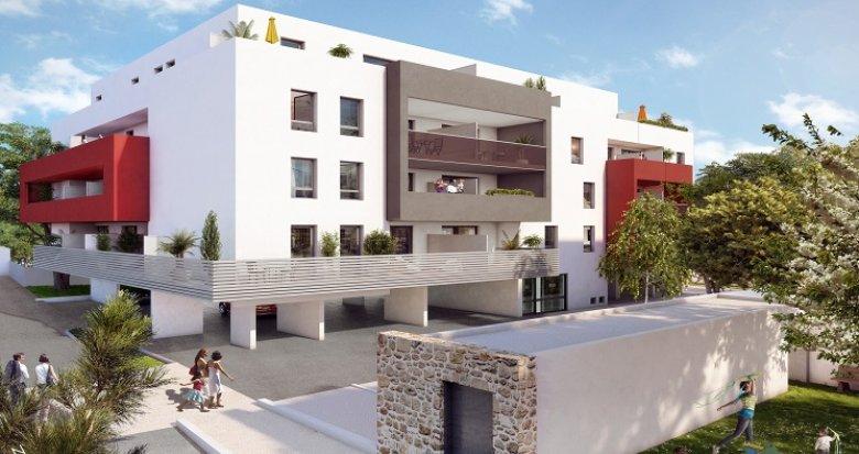 Achat / Vente immobilier neuf Montpellier à proximité des quartiers Alco et Celleneuve (34000) - Réf. 1649