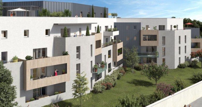 Achat / Vente immobilier neuf Montpellier au calme et à 200m du tram (34000) - Réf. 1998