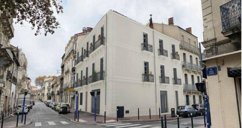 Achat / Vente immobilier neuf Montpellier au cœur du quartier de la gare (34000) - Réf. 5495