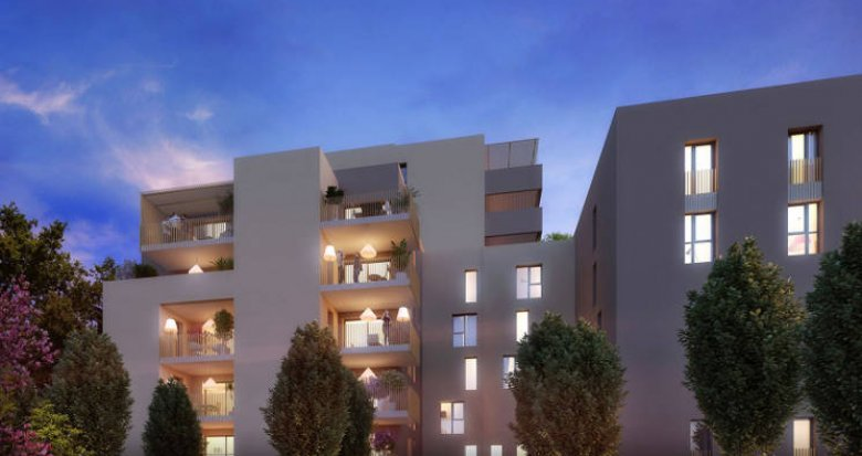 Achat / Vente immobilier neuf Montpellier au cœur du quartier Ovalie (34000) - Réf. 3481