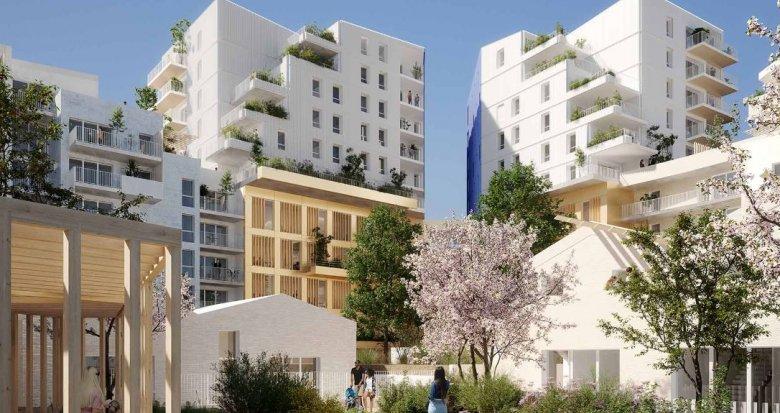 Achat / Vente immobilier neuf Montpellier au coeur d'un éco-quartier (34000) - Réf. 4279